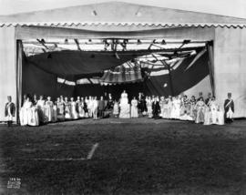 Outdoor pageant on Vancouver Exhibition grounds