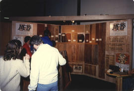 McB's Workshop Ltd. woodworking display booth