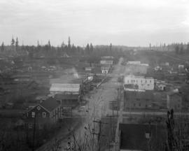 Abbotsford, B.C. - [bird's eye view of the Main Street]