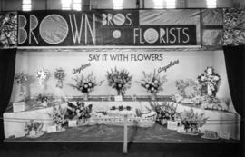 Brown Bros. Florists display