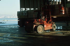 Dec. 17 - Lumber arriving Hangar #6 - 2nds [3 of 19]