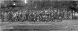 Vancouver Pioneers Association Annual Picnic, June 16th 1920, Bowen Isld. B.C. Commemorating Big ...