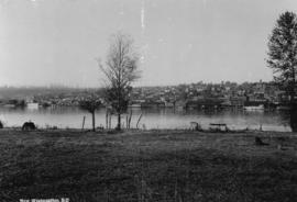 [View across the Fraser River of] New Westminster, B.C.