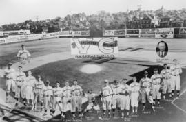 [Postcard of] Vancouver Capilanos Baseball Club composite photo, November 7, 1939
