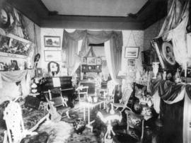[Interior of R.B. McMicking residence - 102 Menzies Street]