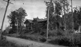 [Houses on] Point Grey Road, near Waterloo Street