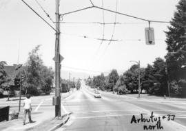 Arbutus [Street] and 33rd [Avenue looking ] north