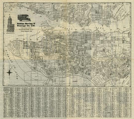 Indexed map of Greater Vancouver : side 2