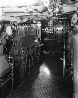 "[Engine room in the ""Taconite""- R.V.Y.C.]"