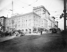 [View of the west side of the 700 Block of Granville Street]
