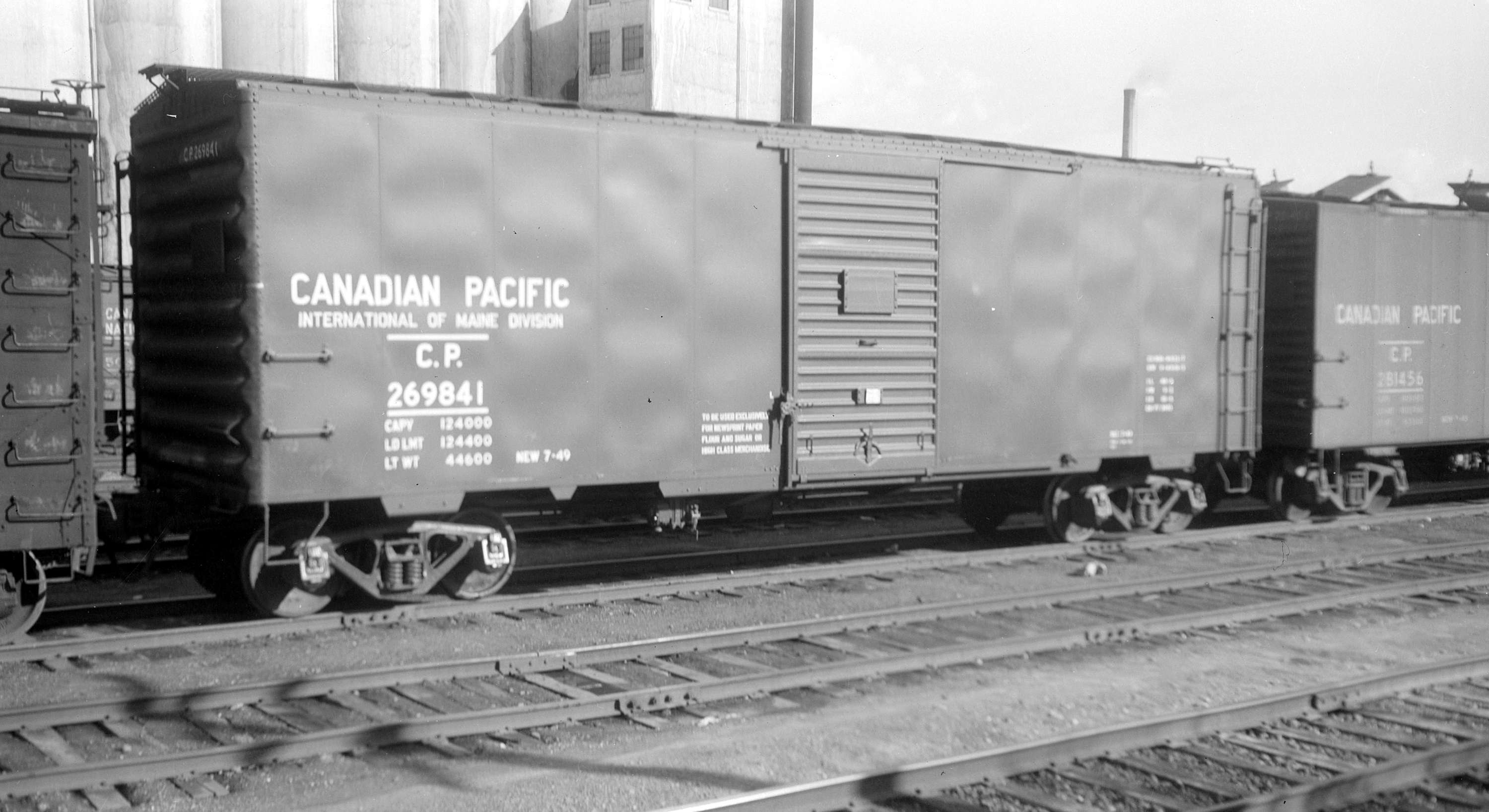International of Maine boxcar