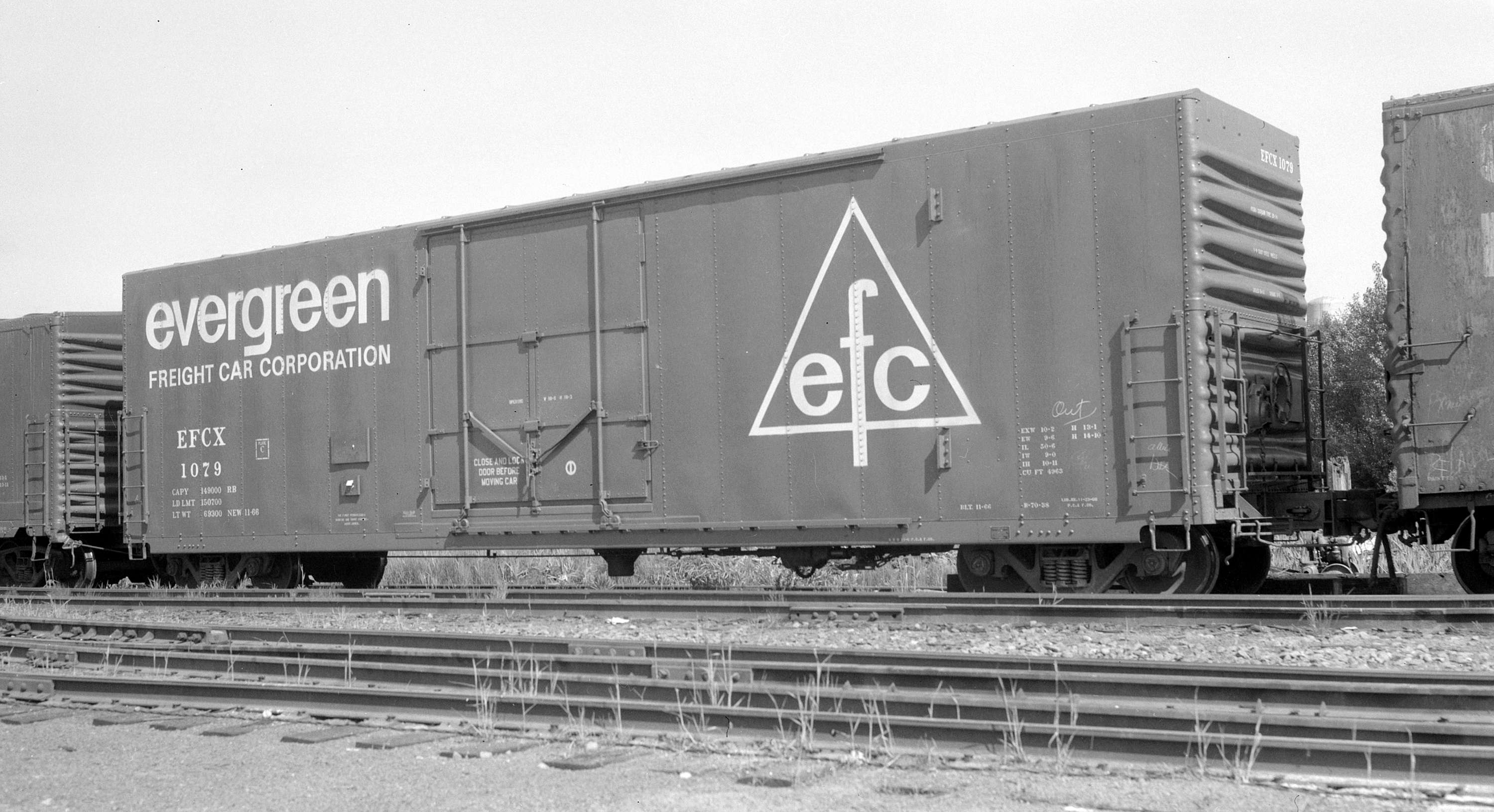 Evergreen Freight Car Corp Boxcar Efcx 1079 City Of