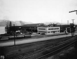 [Job no. 705 : exterior photograph of Evans, Coleman and Evans warehouse, Vancouver B.C.]