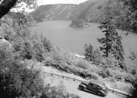 [View of] Brentwood Bay, Malahat Dr., Vancouver Island