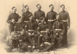 [Non-commissioned Officers, 2nd Battalion, 5th Regiment, Canadian Garrison Artillery]