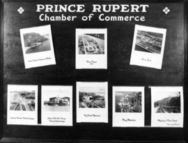 Prince Rupert Chamber of Commerce display of photos
