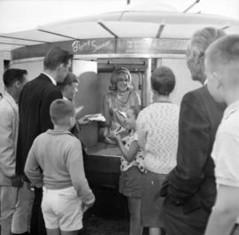 Flying Saucer concession stand on P.N.E. grounds