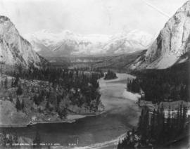 Lower Bow Park, Banff from C.P.R. Hotel