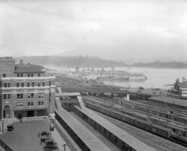 "Vancouver Harbour - C.P.R. Dock [Pier ""C""] and Station"