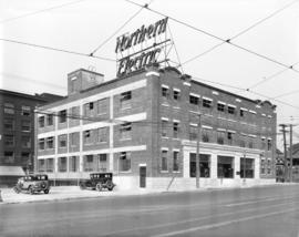 [Northern Electric Company building at 150 Robson Street]