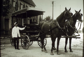 H.B.C. delivery wagon