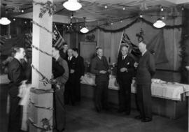 [Union Steamship Company Staff Members at Christmas Party]