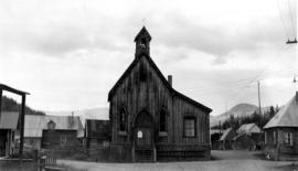 Anglican Church, Barkerville, B.C., built 1869