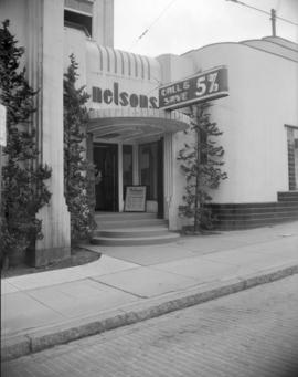 [Exterior view of Nelsons Laundry offices]