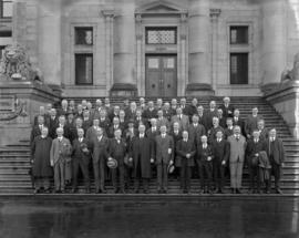 Canadian Institute of Mining and Metallurgy - B.C. Division Convention - [group photograph on the...