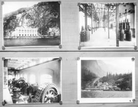 [Various views of Buntzen Lake Power Plant]