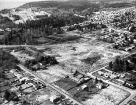 Aerial view of Camosun Park