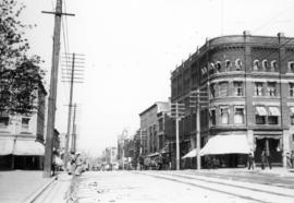 [View of Granville Street looking north from Georgia Street]