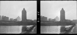 [View of the Marine Building from C.P.R. Pier B-C]