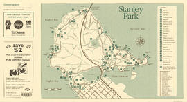 Stanley Park map and guide : park map showing trails, amenities, and recreation sites