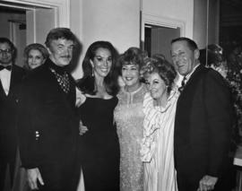 Warde Donovan, Lisa Kirk, Ethel Merman, Phyllis Diller and Hugh Pickett