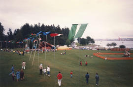 View of Brockton Point during Canada Day Festival