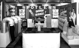 Spotless Stores display of cleaning products and services