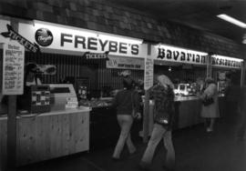 Freybe's Bavarian Restaurant food stand