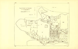 Plan of district lot boundaries, City of Vancouver, B.C. [index map]