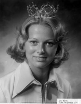 Kim Firth, Miss Victoria 1974 : [portrait]