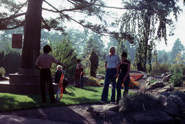 Children's Garden : visitors in Children's Garden