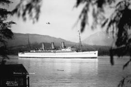 """Empress of Canada"" [entering Burrard Inlet]"