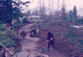 Historical : planting south hemisphere, garden maintenance
