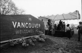 "New ""Welcome to Vancouver"" sign"