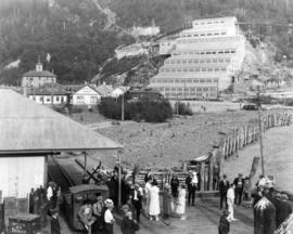 Britannia Mining & Smelting Co. Ltd. - Britannia Beach, B.C. - situated on the eastern shores...