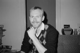 Gay playwright Gordon Armstrong