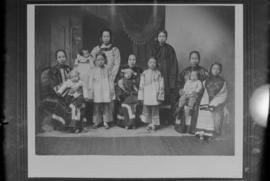 Group portrait of female members of the Yip family
