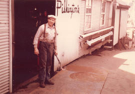 [R. Pilkington at rear of Pilkington's - 1705 West Georgia St.]
