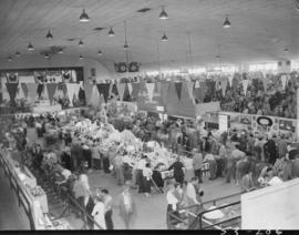 View of P.N.E. Hobby Show in Garden building