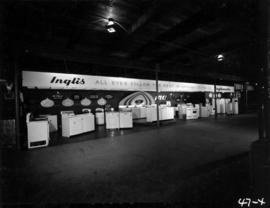 John Inglis Co. display of household appliances